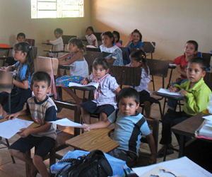 Students in the classroom at the Suzanna Wesley School