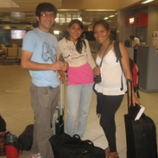 Paraguayan Youth Traveling to a Youth Conference in Chile.