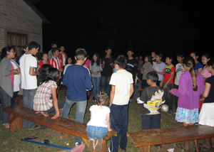 Youth night at the Agrimission Center