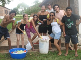 Fun activities for the youth in Paraguay.