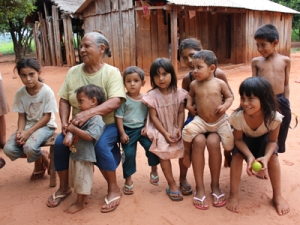 Family from Paraguay Interior